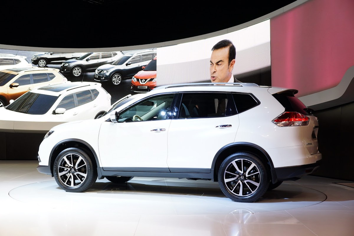 All New Nissan X Trail Suv Is Also The Rogue For North