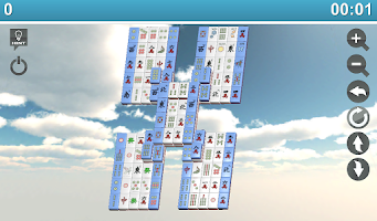 Screenshot of Mojo Mahjong 3D