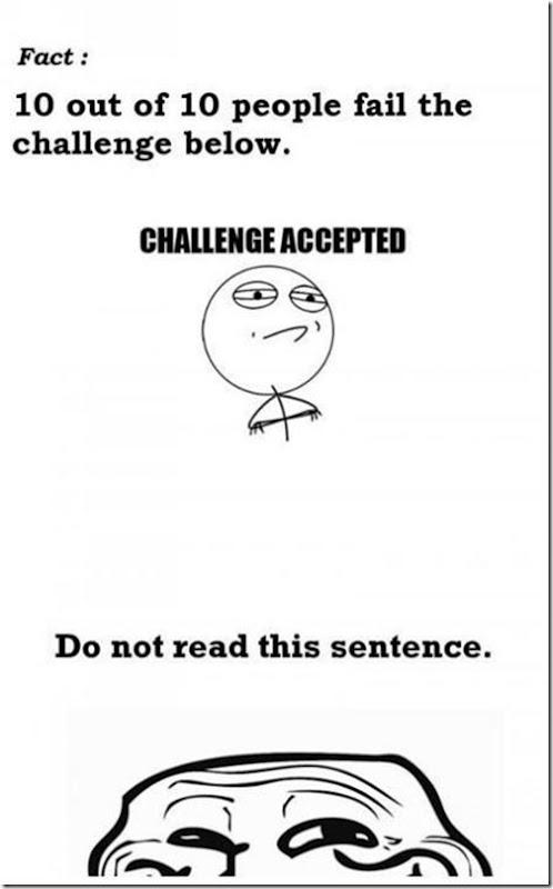 Trolling Challenge