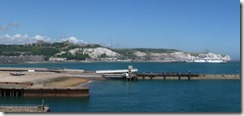 Dover Castle, harbour