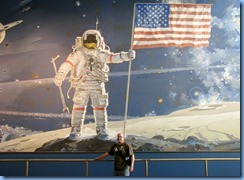 1362 Washington, DC - Smithsonian Institution National Air and Space Museum - Bill in Space