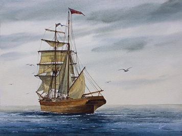 brigantine-making-sail-james-williamson