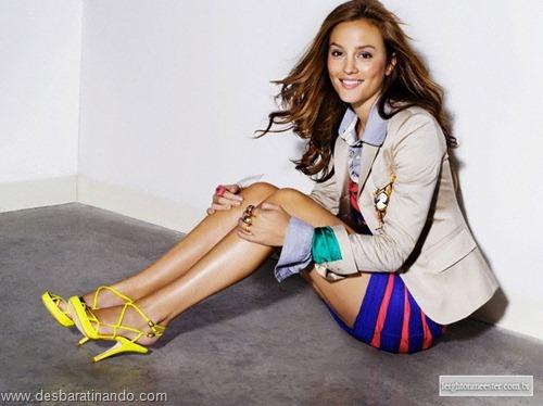 Leighton meester blair gossip girl garota do blog linda sensual desbaratinando  (210)