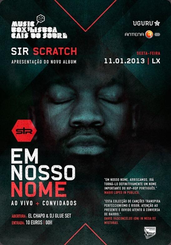 Sir Scratch ao vivo