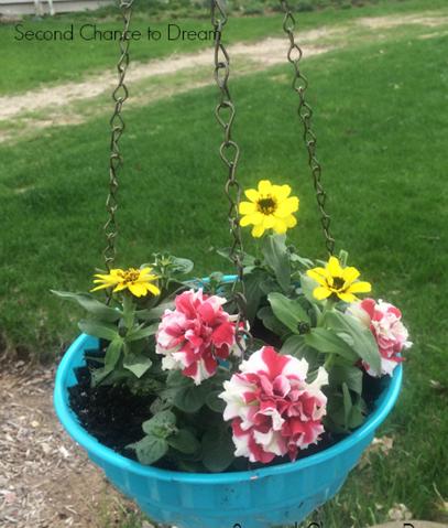 jello mold planters