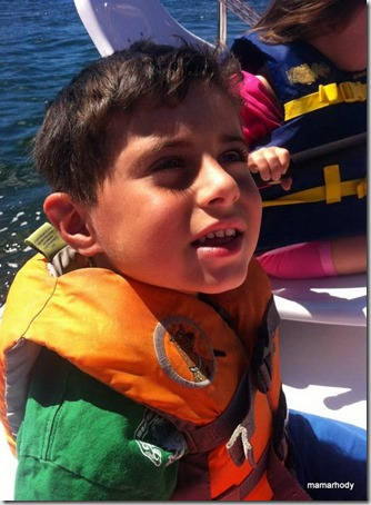 1-Trevy Sailing at Camp 2013 2