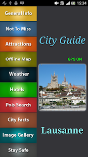Lausanne Offline Guide - screenshot