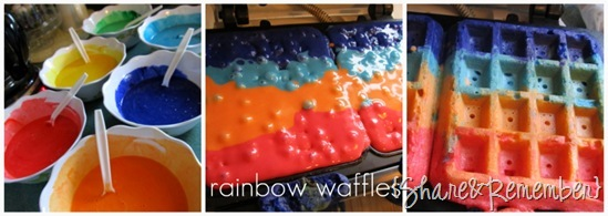 rainbow waffles 10 Things I've Learned About Family Child Care