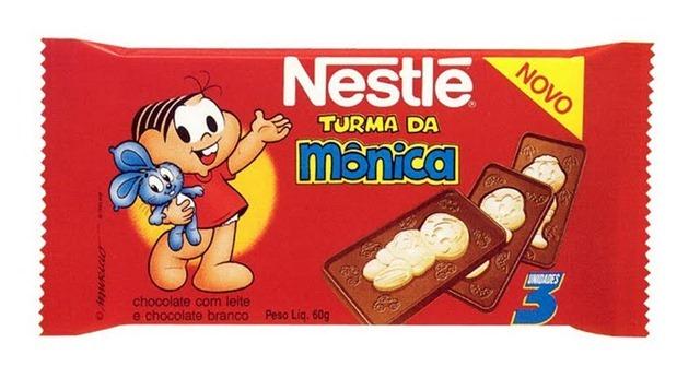 Chocolate Turma da Mônica