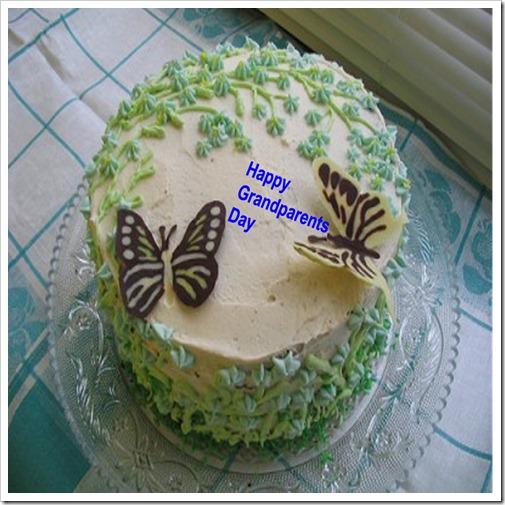 Happy Grandparents Day Cake