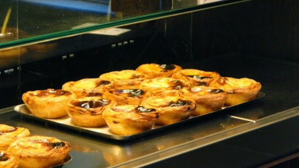 Pastéis de nata no Nata Lisboa