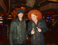 Carrot Top and Cris Photo by: Lanie Crossman