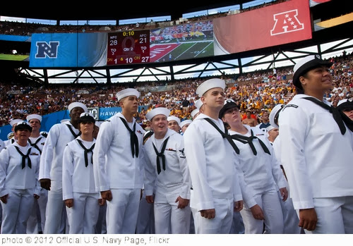 'Sailors attend the 2012 Pro Bowl.' photo (c) 2012, Official U.S. Navy Page - license: http://creativecommons.org/licenses/by/2.0/