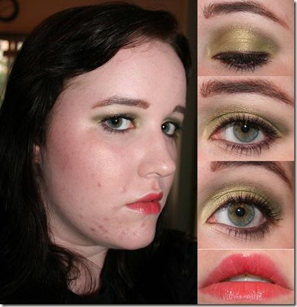 Green eyes look