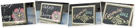 View Chalkboard Frames
