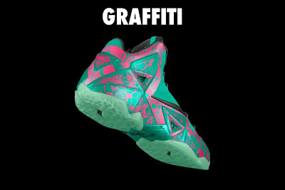 nike lebron 11 id graffiti 4 12 NIKEiD LeBron XI Graffiti in 7 Different Ways