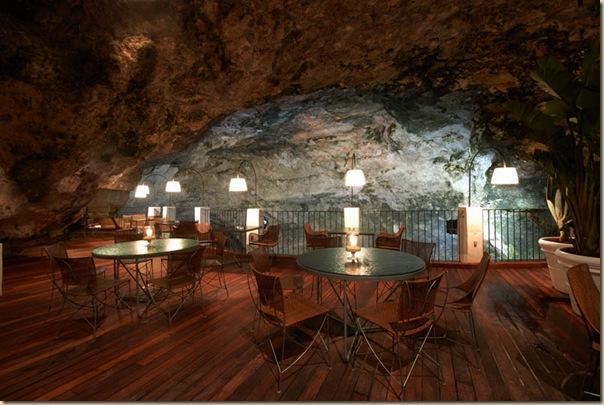 Restaurant de l'hôtel Grotta Palazzese (3)
