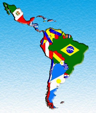 Latin America map obhe ac uk