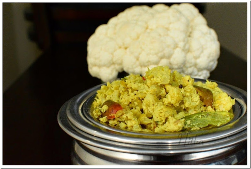 Cauliflower   Mutta Thoran 3