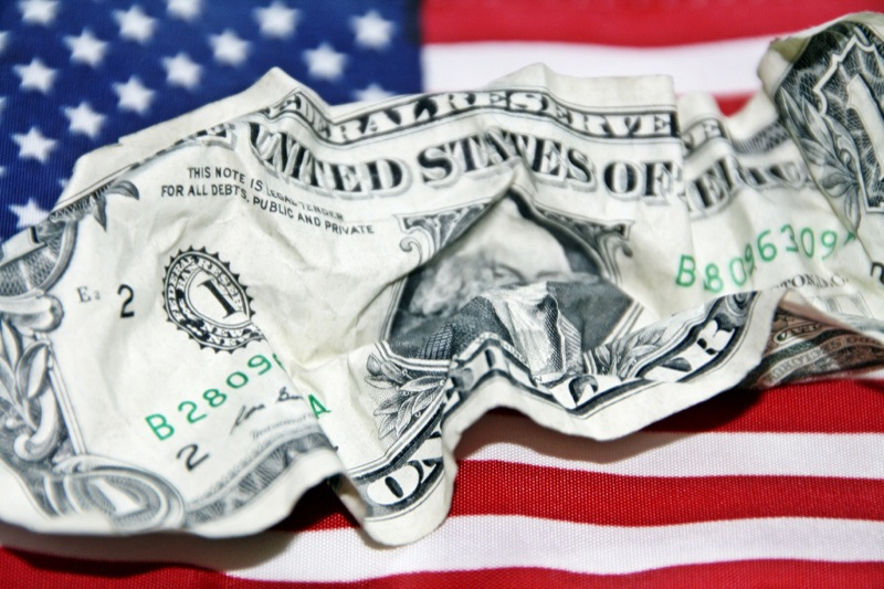 Fair Use Source is farm7 staticflickr com  Subject is crumpled dollar
