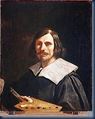 Guercino autorretrato