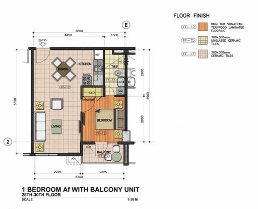 1-BEDROOM-Af_W & WO-BALCONY