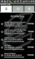 Screenshot of DJ Eddie Tully