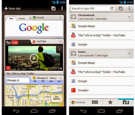 Truco para hacer más rápido Google Chrome desde Android