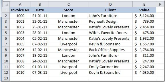 Excel user add automatic subtotals we now want to get the subtotals of the value column for each store first thing that we need to do is to sort the table by the store column ibookread PDF