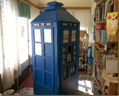 TARDIS corner view