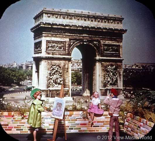 View-Master Barbies Around the World Trip (B500), Scene 7