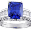 Sterling Silver 4.12ctw Bella Luce Tanzanite Color Simulant And Diamond Simulant Ring.jpg