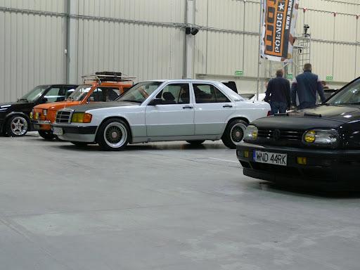 Mercedes 190 cult style (mój:)