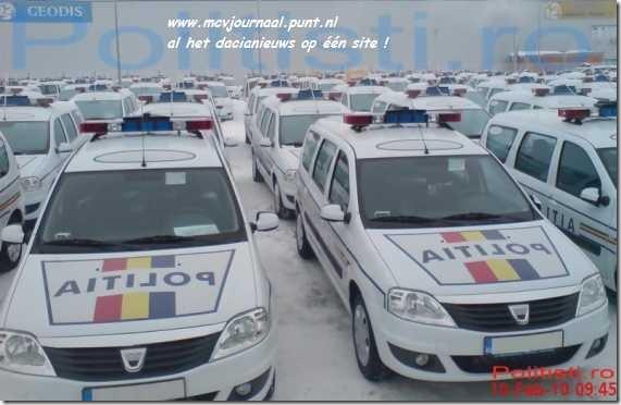 Politie kiest voor Dacia Logan MCV 04