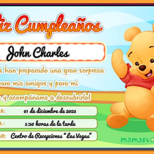 Modelos de Tarjetas de Cumpleaños para Niños ★ para Imprimir ...