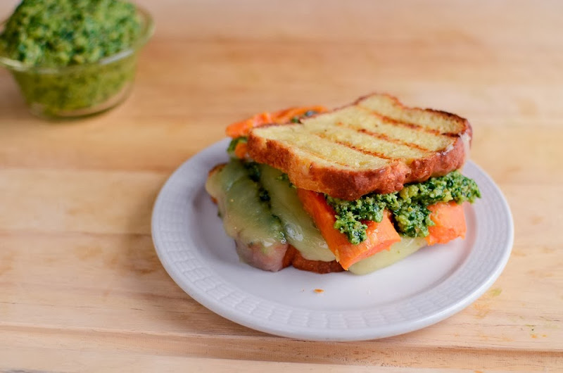 kale pesto gluten free grilled cheese-14319