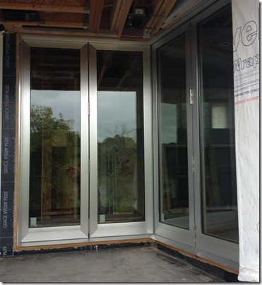 custom bifolding door