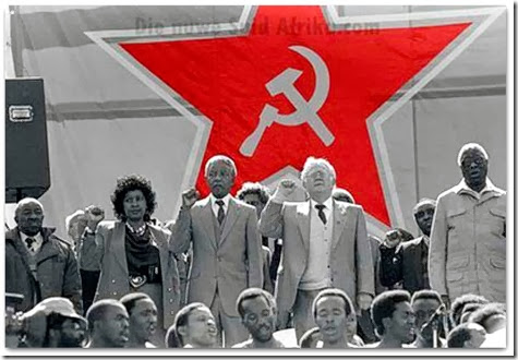 Nelson Madela - middle, Joe Slovo - SAComParty.png