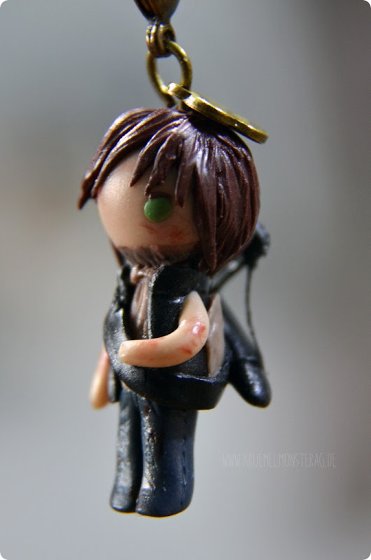 Daryl Dixon Polymer Clay (02) made by Samira
