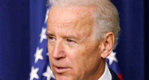 U.S. Vice President Joe Biden reassured environmentalists 20 January 2013 that the Obama administration would not let climate change fall by the wayside in the president's second term. Photo: Reuters