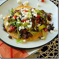 black-bean-tostadas