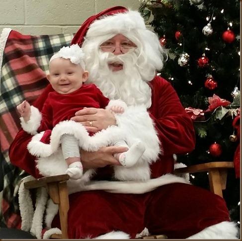 Lora and Santa