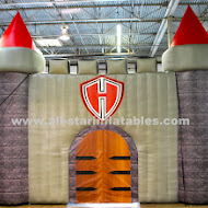 Harker Heights Inflatble Knight Arch Entrance.JPG