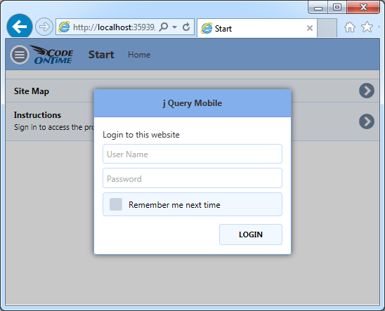 Home SPA will request identification if the user just has logged out of the SPA that required authorizaton in an application with Touch UI.