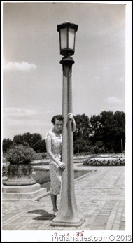 Rose Weber in  Garfield Park,  1938