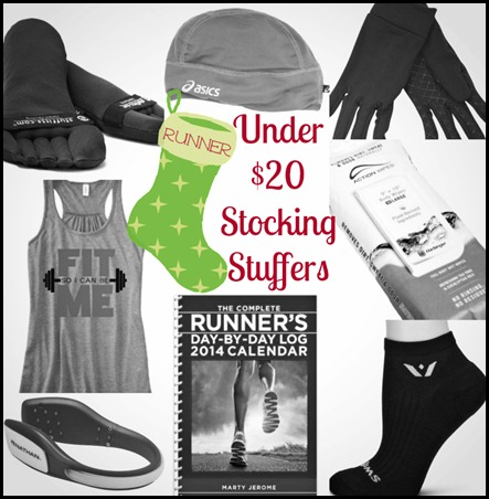 Runner Stocking Stuffer gifts