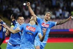 Hasil Napoli vs Inter Milan