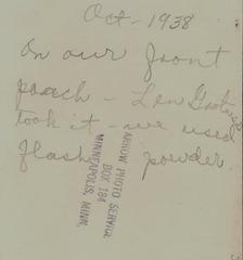 Oct 1938 Flash Powder back