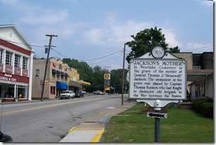 Jackson's Mother marker, along U.S. Route 60 in Ansted, WV