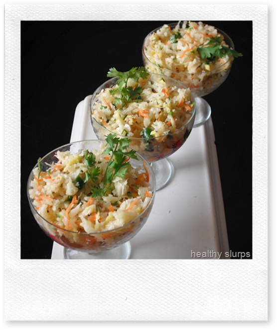 Cauliflower Koshimbir